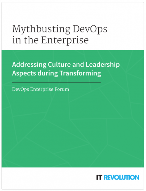 DevOps Enterprise Forum