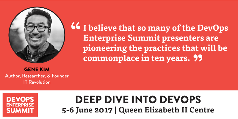 What to Expect from DevOps Enterprise Summit London 2017
