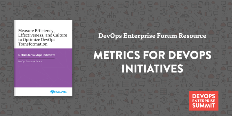 Featured Resource: Metrics for DevOps Initiatives