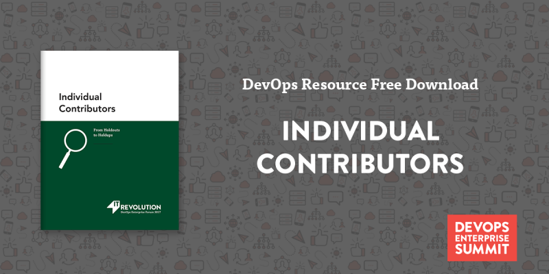Featured Resource: Individual contributors