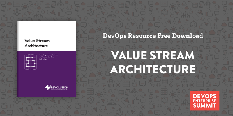Featured Resource: Value Stream Architecture