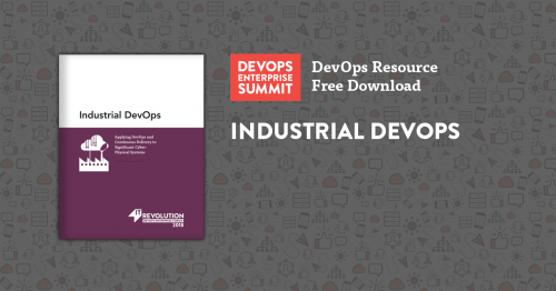 Featured Resource: Industrial DevOps - IT Revolution