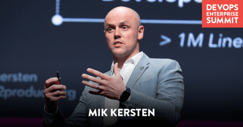 Mik Kersten devops enterprise summit