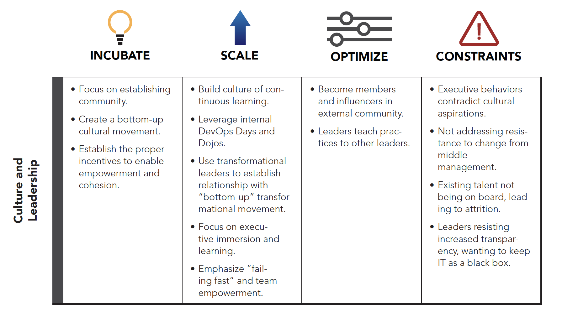 Culture and Leadership: The Seven Domains of Transformation