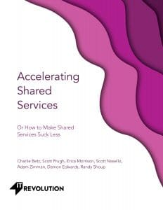 accelerating shared services cover